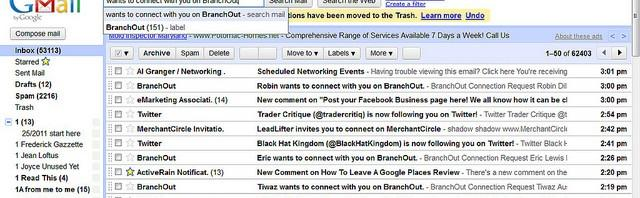 tips to reduce inbox clutter