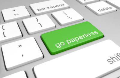 Use the Homezada app to go paperless.